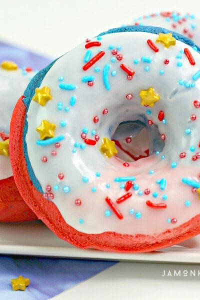 Captain Marvel Star Spangled Donuts