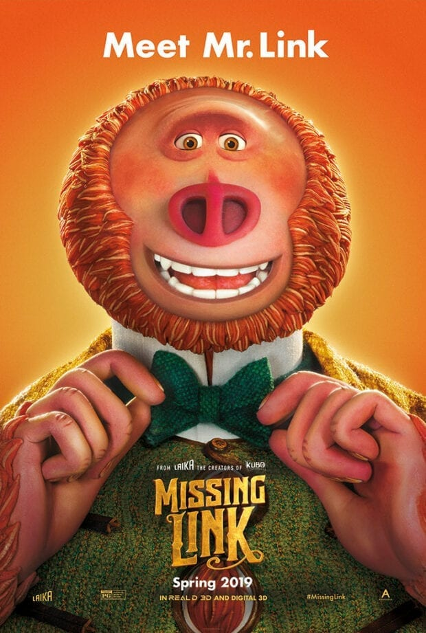 Missing Link Movies Poster