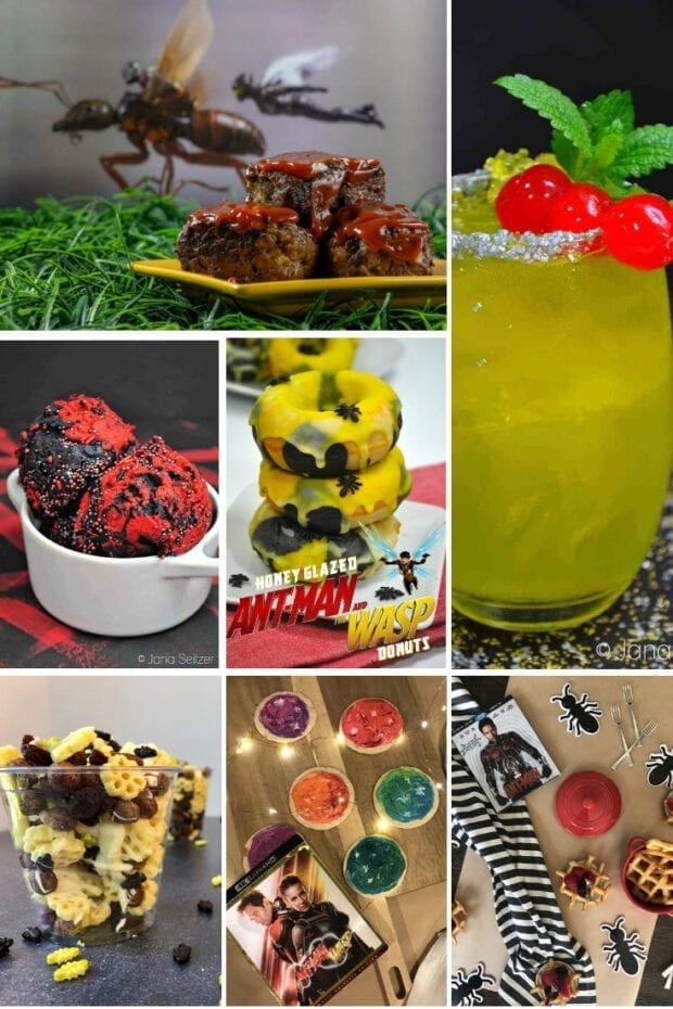 Ant-Man and the Wasp recipes