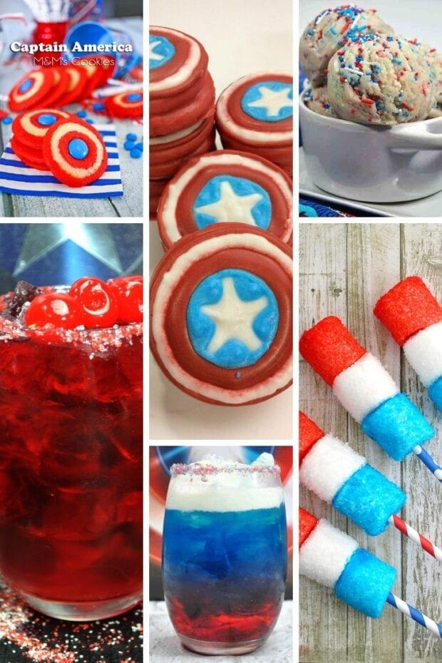 Captain America Recipes