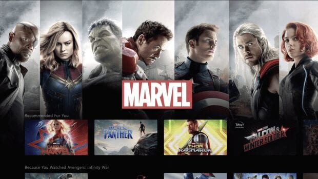 Disney+ Marvel