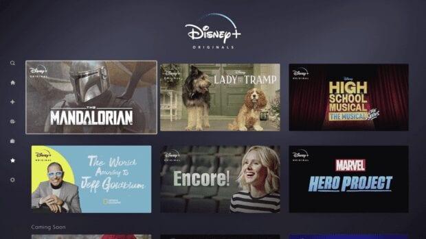 Disney+ Original Content