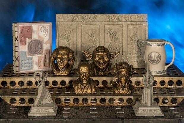Relics from Dok-Ondar's Den of Antiquities
