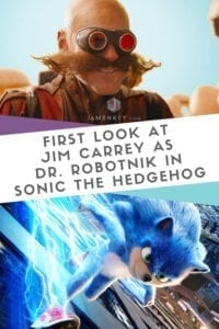 First Look at Jim Carrey as Dr. Robotnik in Sonic the Hedgehog Live-Action Movie