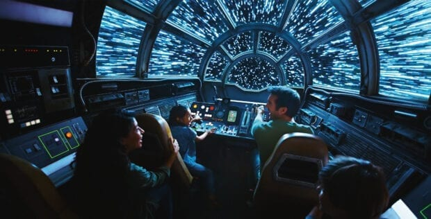 Inside Millennium Falcon Smugglers Run