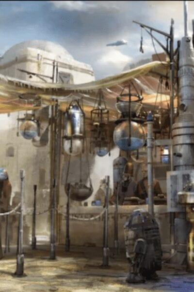 Star Wars Galaxy's Edge Milk Stand