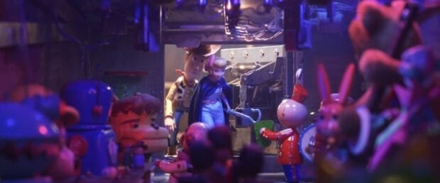 Tin Toy - Toy Story 4 Easter Eggs