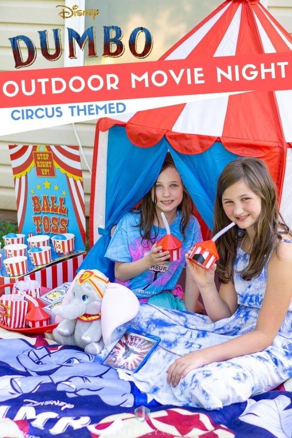 Dumbo Circus Themed Movie Night