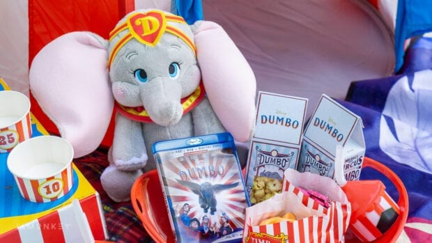 Dumbo Circus Themed Movie Night