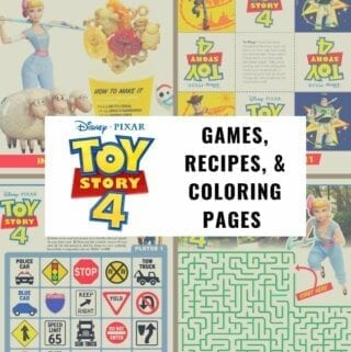 Toy Story 4 Printables