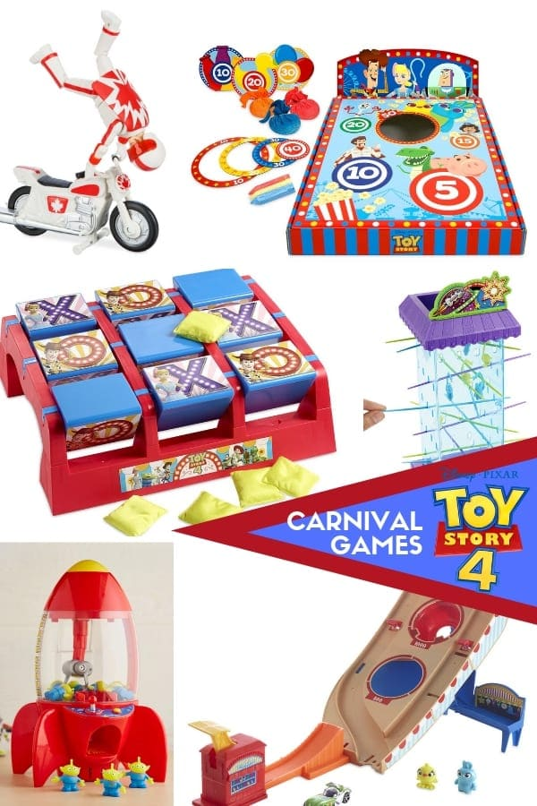 Toy Story Carnival Games
