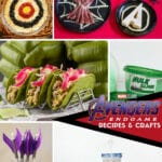 Avengers Recipes and Crafts