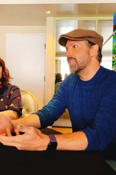 Rachel Bloom and Jason Sudeikis