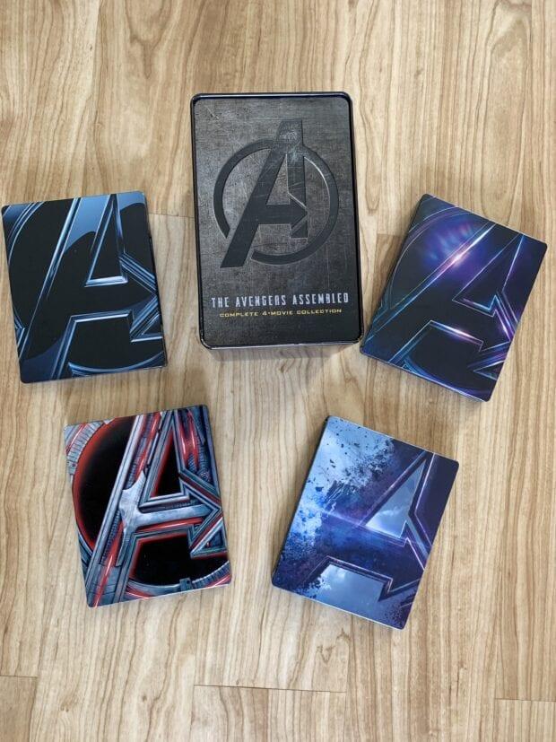 Best Buy Exclusive Avengers 4-Movie SteelBookAvengers