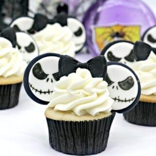 Jack Skellington Cupcakes-8