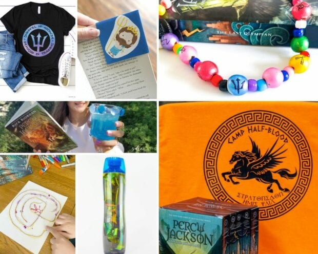 Percy Jackson Crafts