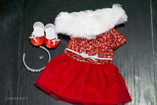 American Girl Decked Out Holiday Dress