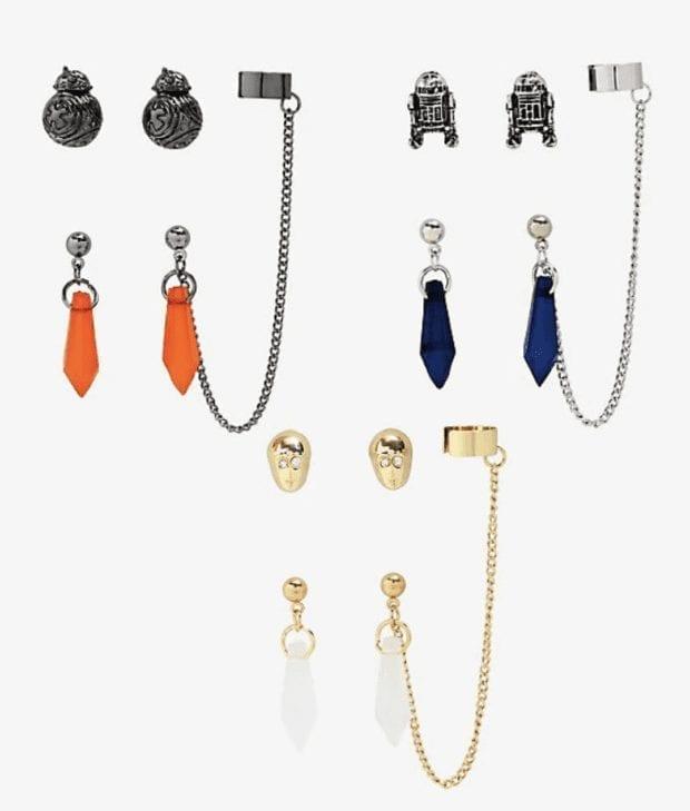 Droid Crystal Earrings
