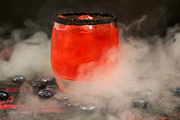 Star Wars Kylo Ren Lightsaber Cocktail