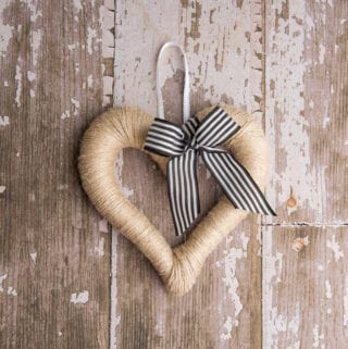 Farmhouse Heart Wreath