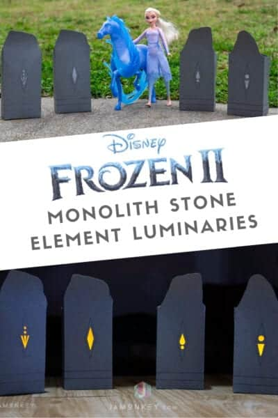 Frozen 2 Monolith Stone Element Luminaries