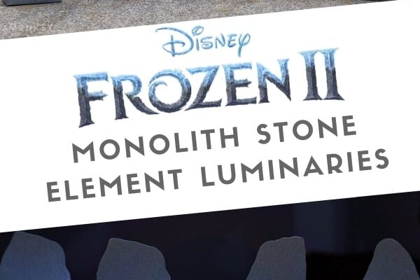 Frozen 2 Monolith Stone Element Luminaries