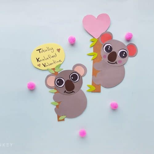 Koala Valentines