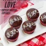 Valentine's Love Copycat Hostess Cupcakes