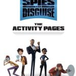 Spies in Disguise printables