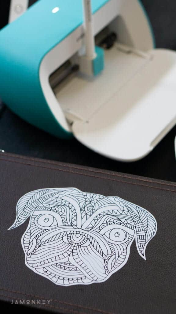 Cricut Pug Drawing