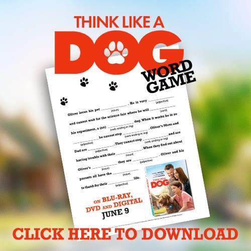 Think Like a Dog Printable