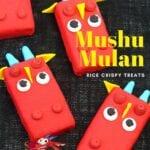 Mushu Mulan rice crispy treats