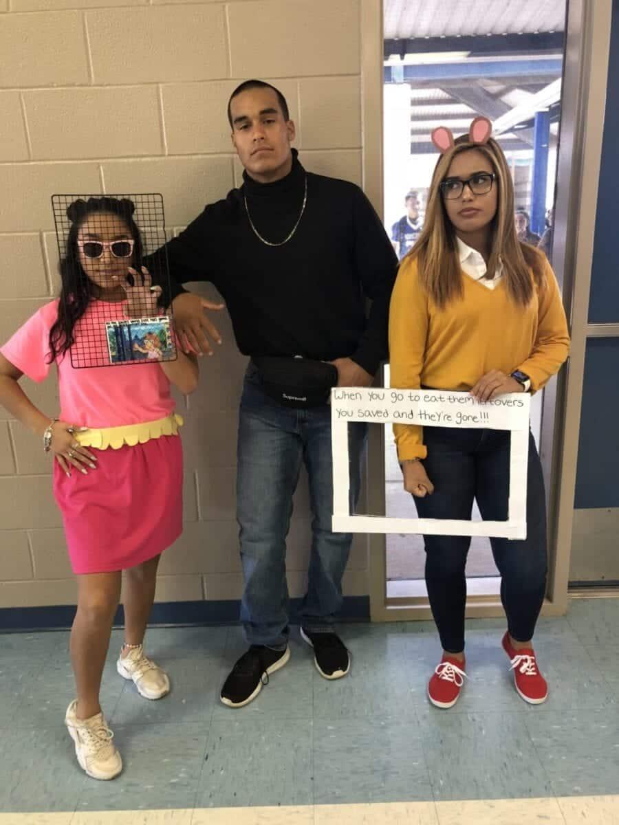 Arthur and The Rock Halloween meme costumes