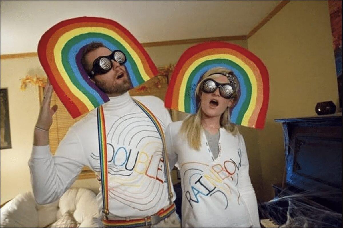 double rainbow meme costume