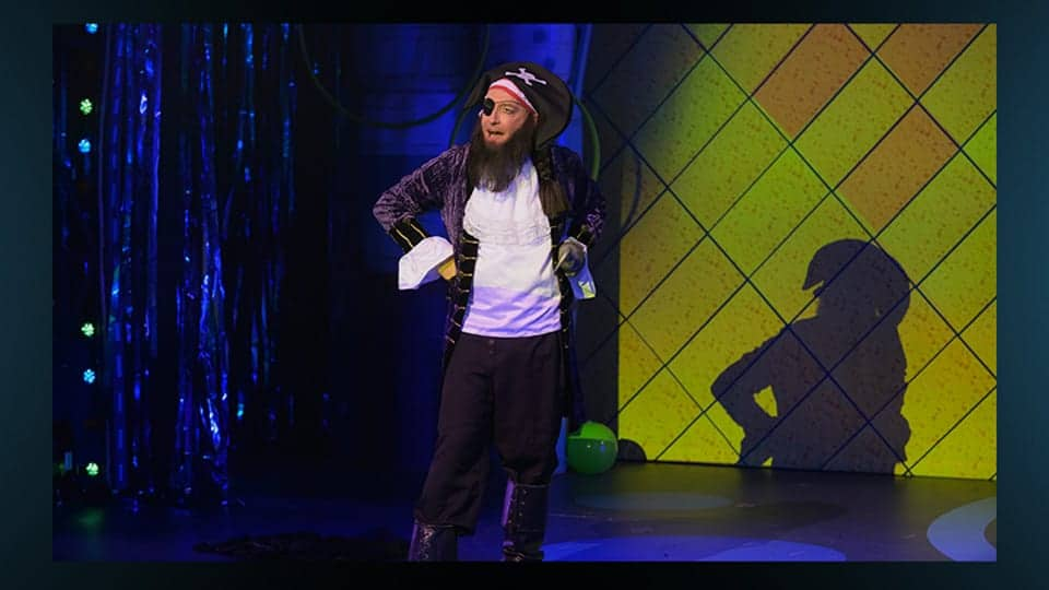 Tom Kenny as Patchy the Pirate in The SpongeBob Musical: Live on Stage