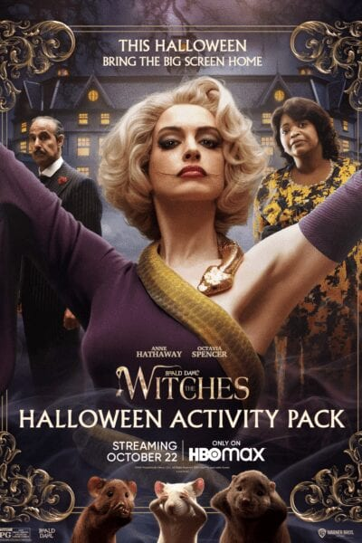 The Witches Activity Packet