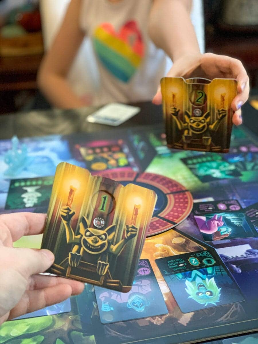Disney HauntedMansion Call of the Spirits Game Duel Cards