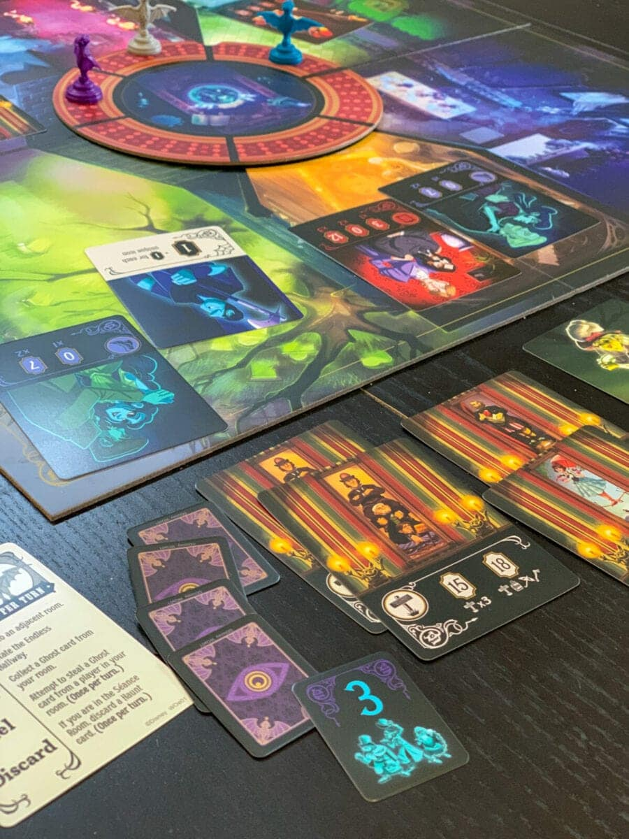 Disney HauntedMansion Call of the Spirits Game Ghost Cards