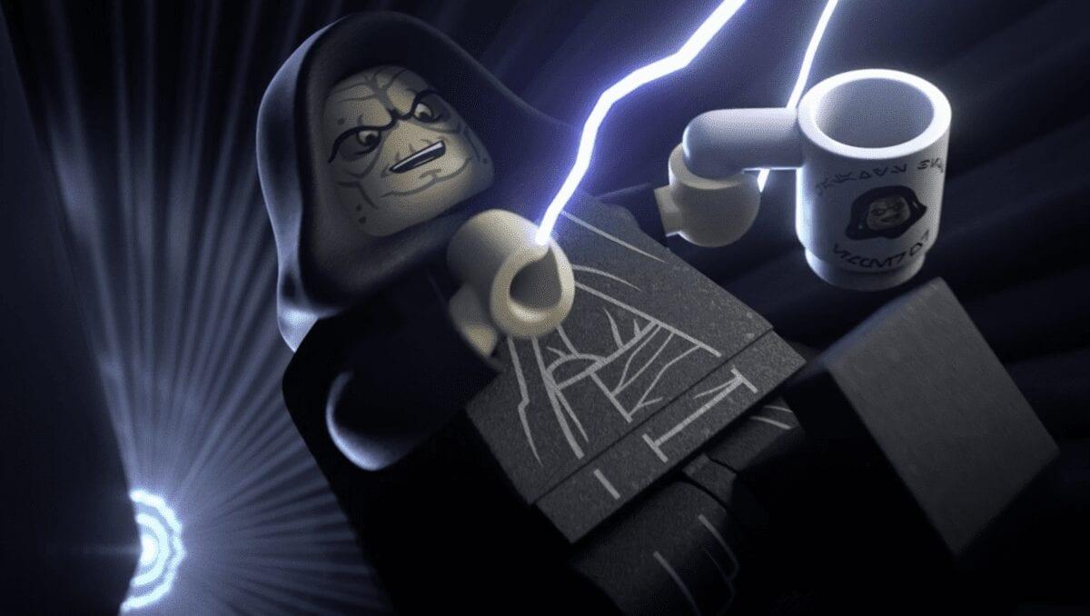 LEGO Palpatine change of heart