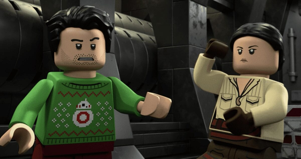 LEGO Poe Dameron in Holiday sweater