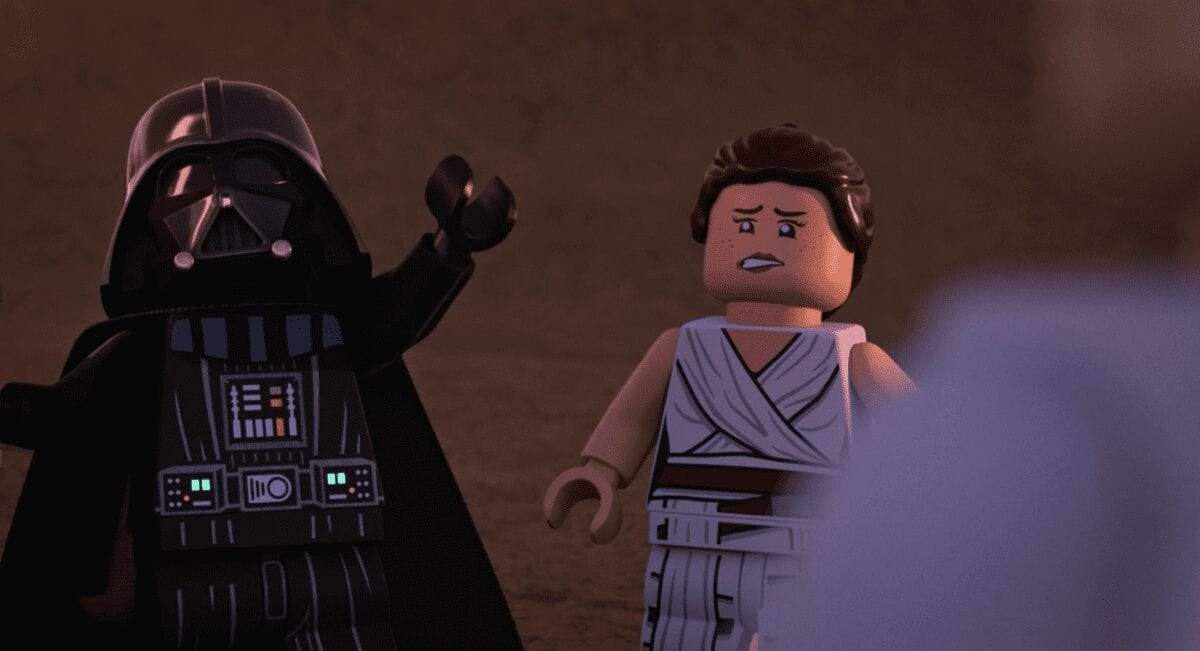 LEGO Vader and his son