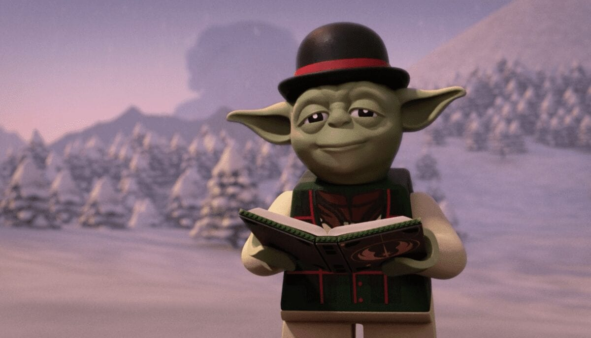 LEGO Holiday Special Yoda Sweater