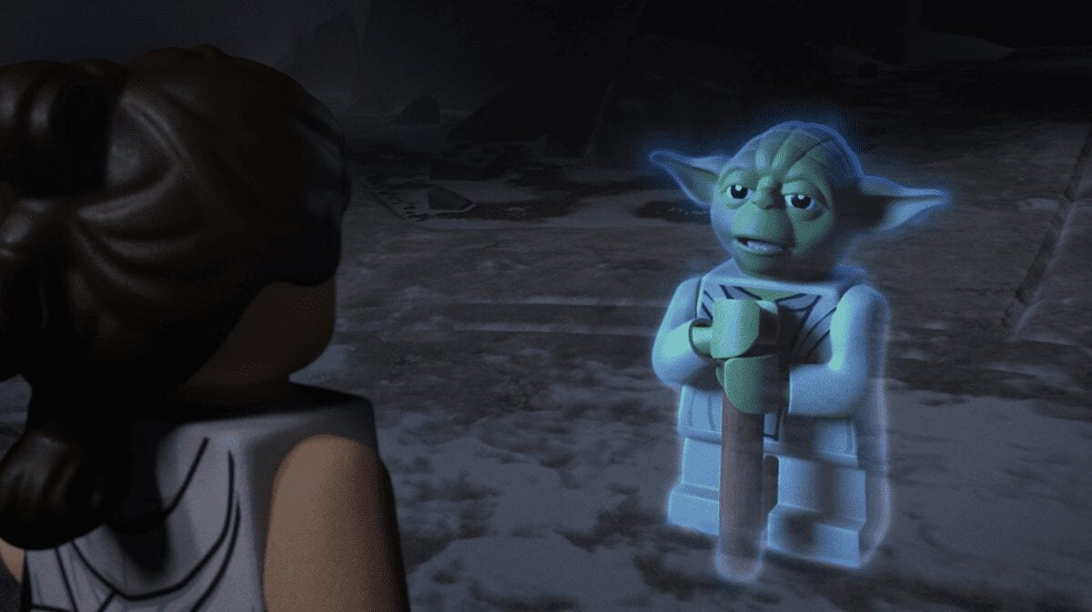 LEGO Yoda Force Ghost