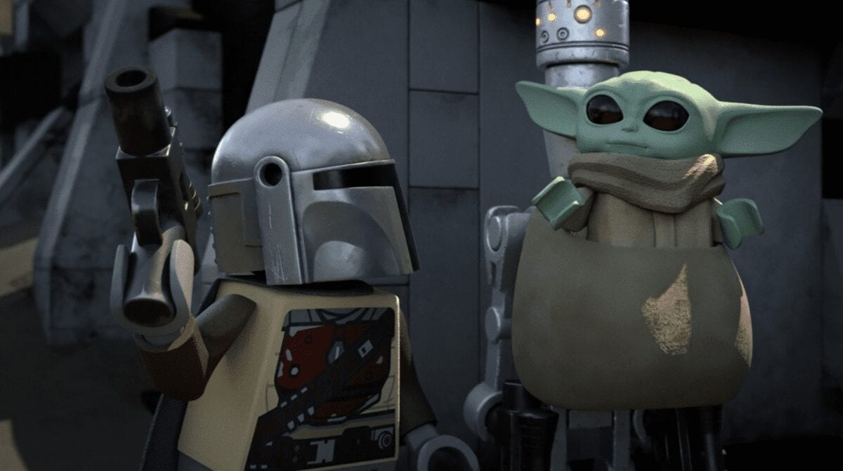 LEGO The Child and the Mandalorian