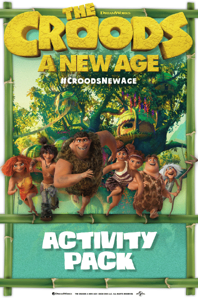 Croods New Age Printable