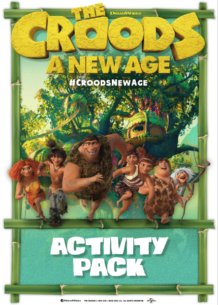 Croods New Age Printable