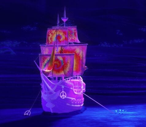 Soul Easter Egg Peace Ship
