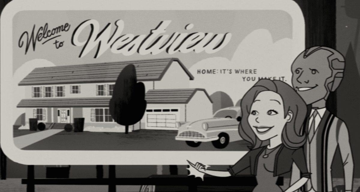 Westview SIgn WandaVision