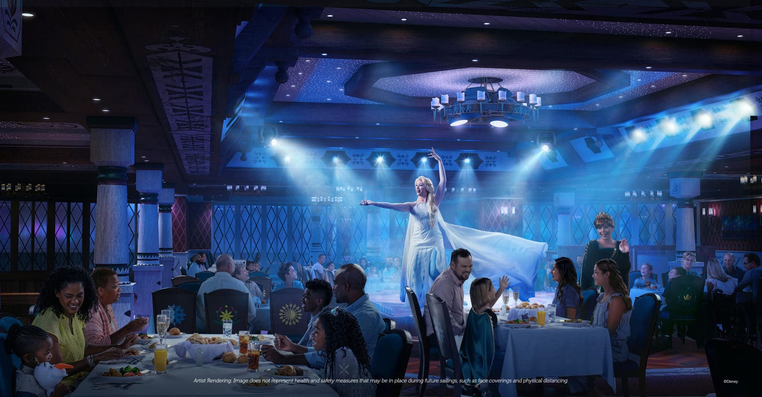 Disney Wish – Arendelle: A Frozen Dining Adventure
