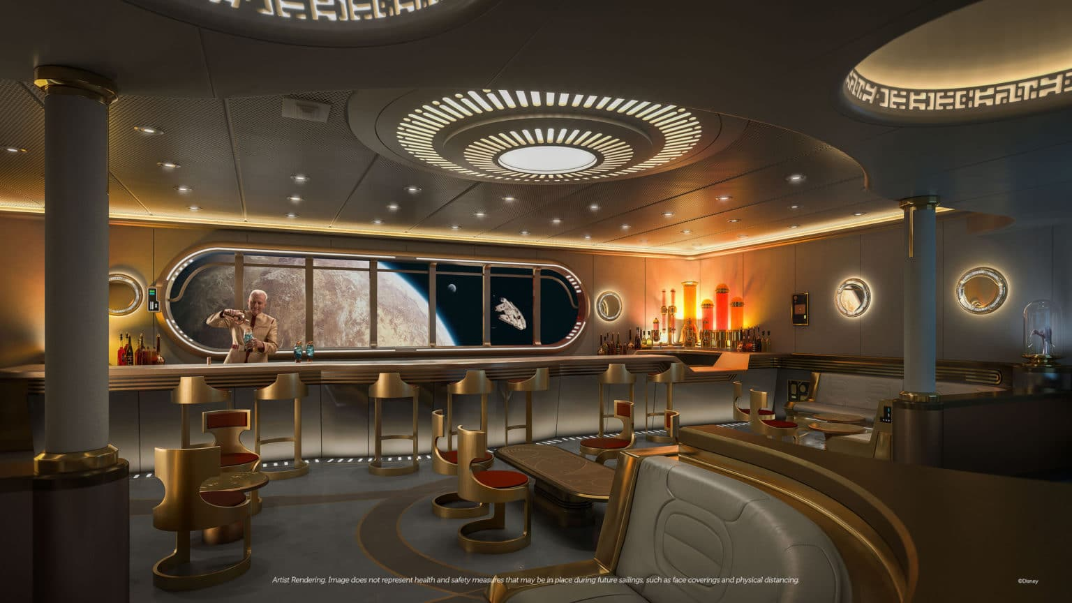 Disney Wish – Star Wars: Hyperspace Lounge